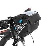Docooler 3L bicicleta bolsa para manillar, función multi touch screen Bike...