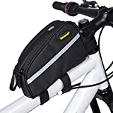 Selighting Bolsa Tubo Bicicleta Bolsas Impermeable para Manillar de Bici del...