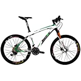 BEIOU® Fibra de Carbono para Bicicleta de montaña Hardtail MTB Shimano...
