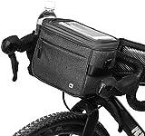 Selighting Impermeable Bolsa de Manillar de Bicicletas de Carretera y de...