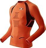 X-Bionic - Camiseta de running para hombre, multicolor (orange sunshine /...