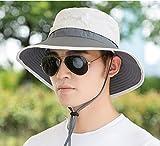 TAGVO Sombrero Ancho Sombreros para el Sol, Sombreros de Pescador Acampar al...