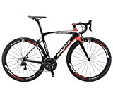 SAVADECK HERD6.0 700C Bicicleta de Carretera de Fibra de Carbono Shimano 105...