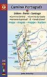 Camino Portugues Maps: Lisbon - Porto - Santiago / Camino Central, Camino De La...