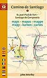 Camino De Santiago Maps: St. Jean Pied De Port - Santiago De Compostela (Camino...