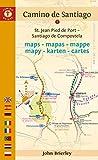 Mapa Guía del Camino de Santiago (Saint Jean-Santiago). Camino Guides. (Maps)...