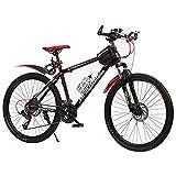 SHANJ Bicicletas de Montaña para Hombres y Mujeres Adultos de 26 Pulgadas,...