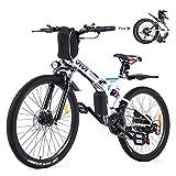Vivi Bicicleta Eléctrica Plegable, 26' Bicicleta Montaña Adulto, Bicicleta...