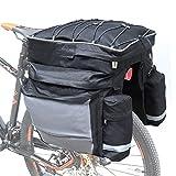 COFIT 68L Bicicleta Pannier, Bolso Impermeable para Maletero de Bicicleta como...