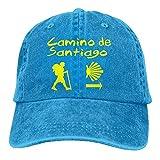 kslae Hombres Mujeres Camino De Santiago Compostela Jeanet Gorra de béisbol...