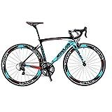 SAVADECK Bicicleta de carretera de carbono, bicicleta de carretera Warwinds3.0...