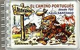 El camino portugues (desde tui hasta Santiago) (plastificado)