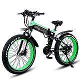 Shengmilo Bicicletas eléctricas de 26 Pulgadas, Bicicleta eléctrica de...