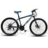 SHANJ Bicicletas de Montaña para Adultos de 24/26 Pulgadas, Bicicletas MTB para...