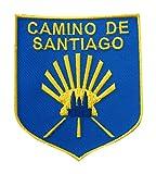 Parche blasón Camino de Santiago