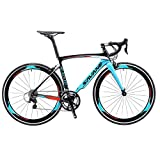 Sava Bicicleta de Carretera de Fibra de Carbono 700C Shimano 5800 22-Velocidad...