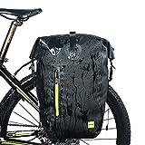 Selighting Bolsas Sillín Bicicleta Portaequipajes Alforjas Trasera para...
