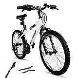 SHANJ Bicicleta de Montaña para Niños de 20 Pulgadas, Bicicletas de Carretera...
