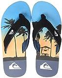 Quiksilver Molokai Layback, Zapatos de Playa y Piscina Hombre, Multicolor Black...