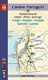 Mapa-Guía Camino portugués (Lisboa a Santiago) Español, inglés, alemán,...
