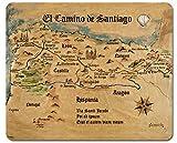 1art1 Camino De Santiago De Compostela - El Camino De Santiago Anno 1445, Jon...