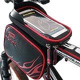 XBoze Bolsa de Bicicleta Impermeable Bolsa Marco Frontal Superior Tubo Bolsa...