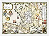 Mapa Caminos de Santiago de Compostela
