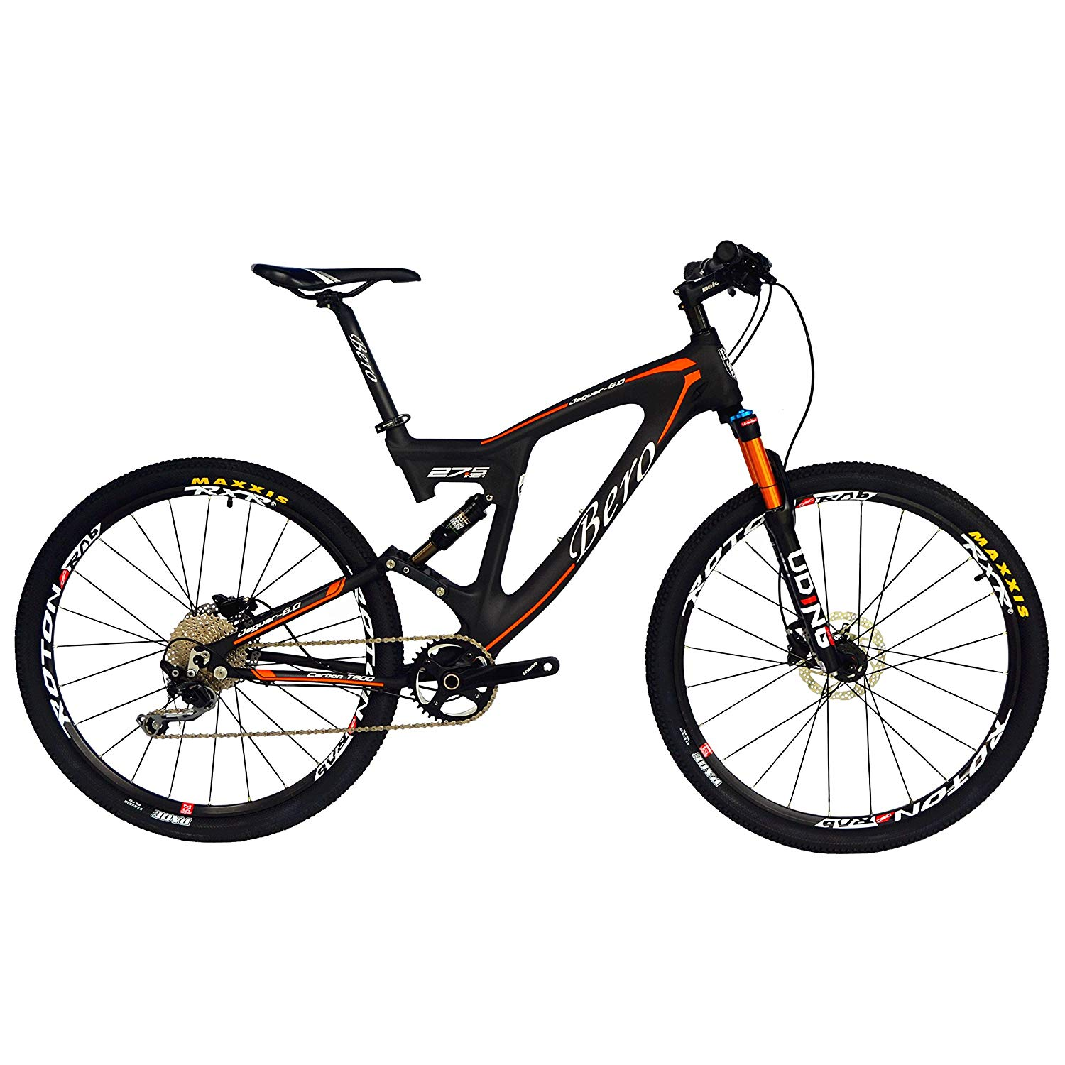 BEIOU Carbon Dual Suspension Mountain Bicycles