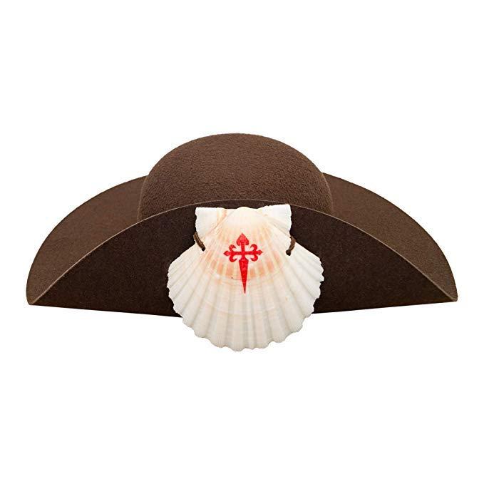 sombrero peregrino del camino De Santiago